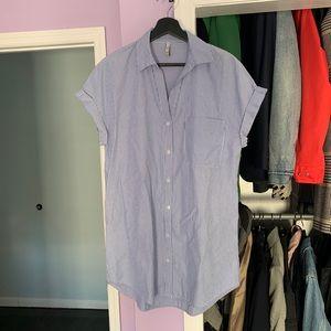 Zara TRF Shirt Dress